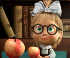 Masha And The Bear Educational - memory