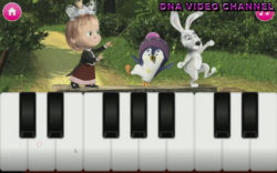 Masha And The Bear Educational - piano