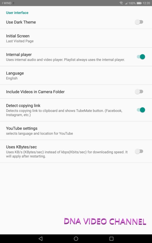 TubeMate Config Language Theme