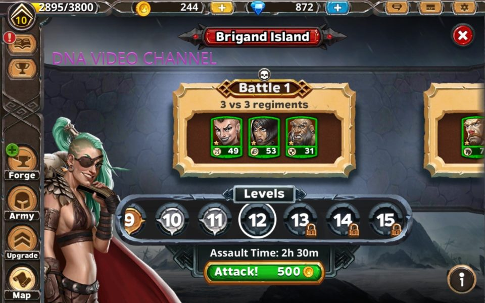 Warlords of Aternum brigand island