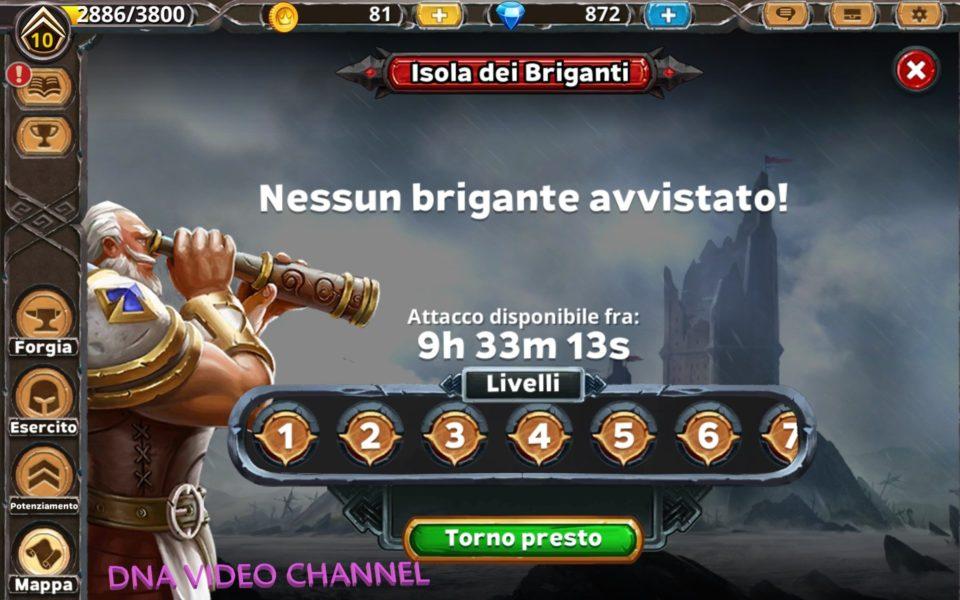 Warlords of Aternum isola dei briganti