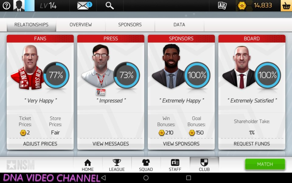 New Star Manager Management