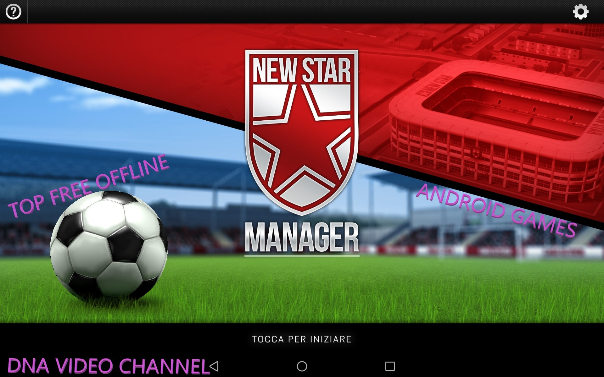 New Star Manager - Android Soccer Game IOS Offline - Review Tricks
