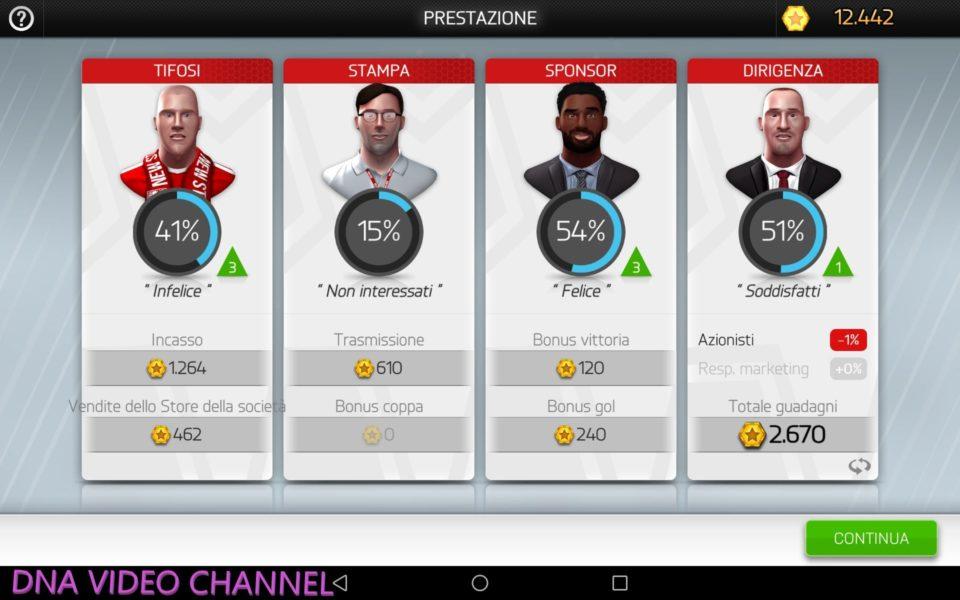New Star Manager Valutazione Allenatore