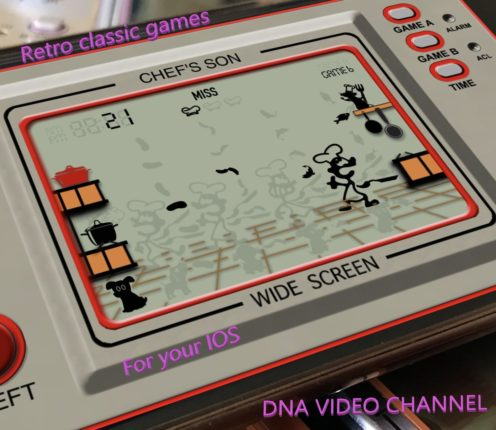 Retro Game Giochi classici anni 80 per IPhone