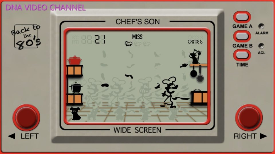 Retro Game Classic 80s games for iPhone IOS - Chef's Son screen 1