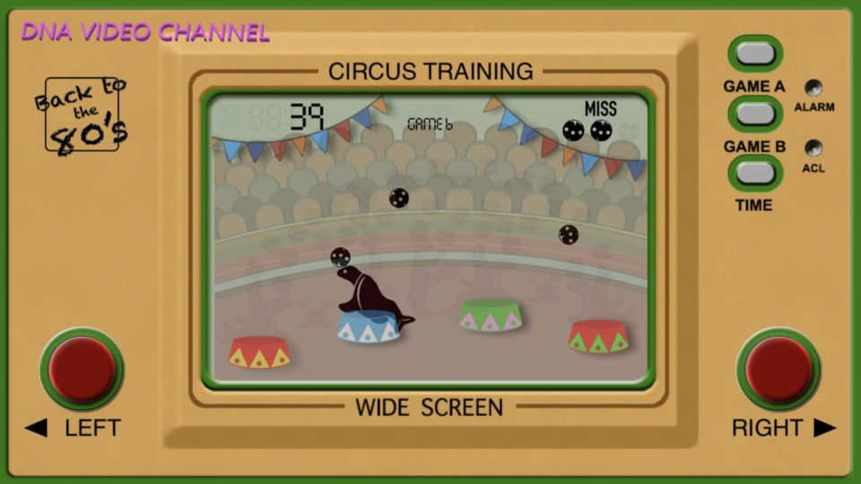 Retro Game Classic 80s games for IPhone IOS - Circus Training Screen 01