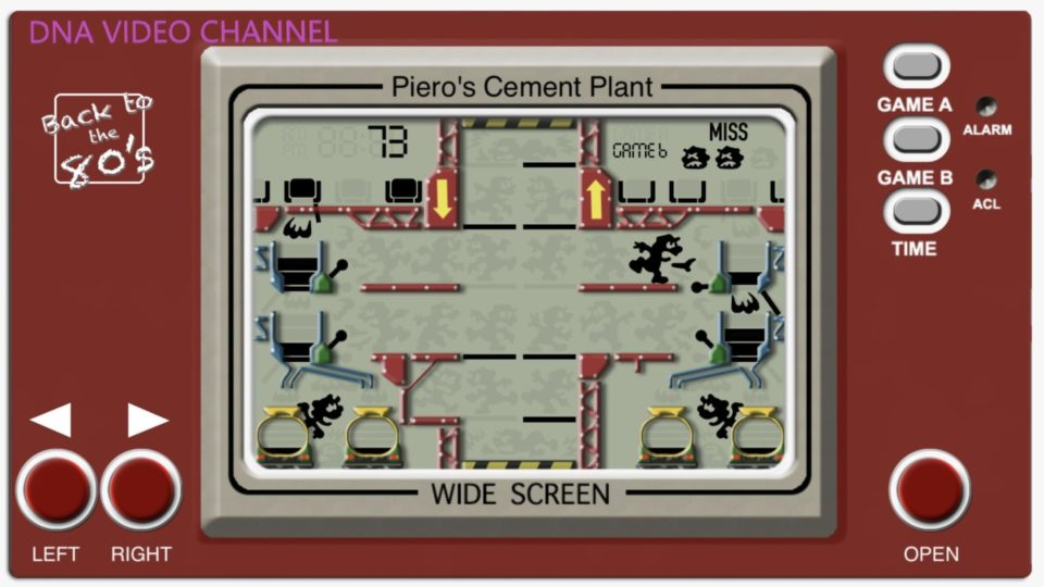 Vintage Game Giochi classici anni 80 per IPhone IOS - Piero Cement Plant Screen 01