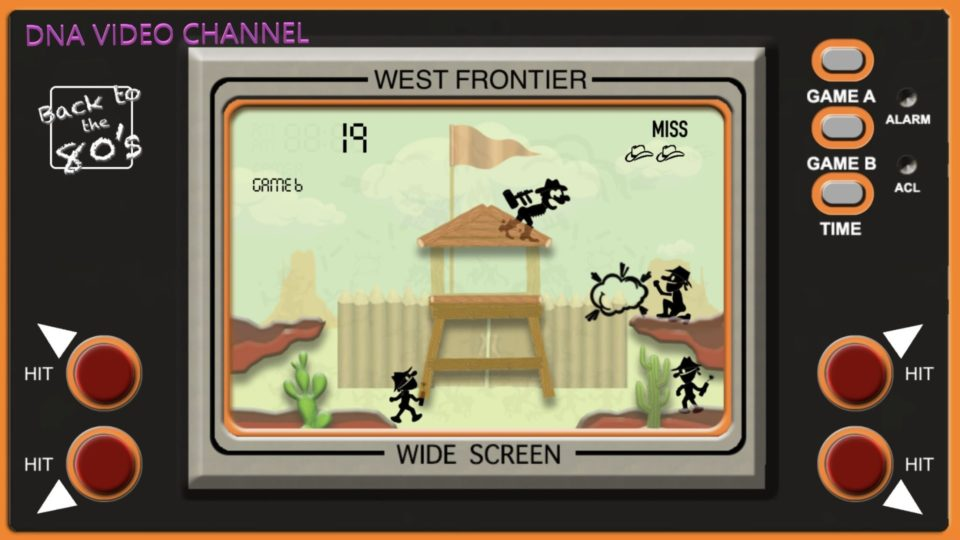 Retro Game Classic 80s games for IPhone IOS - West Frontier Screen 01
