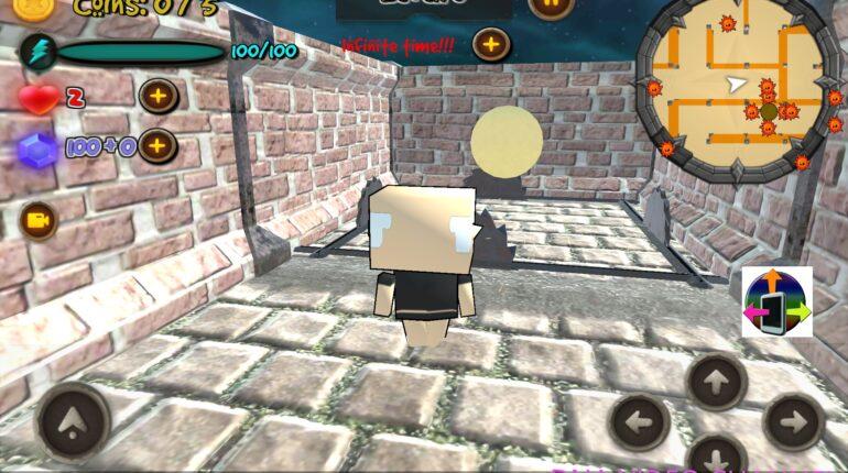 Trapped inside the maze scelta personaggi gioco